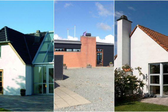 villa collage trio